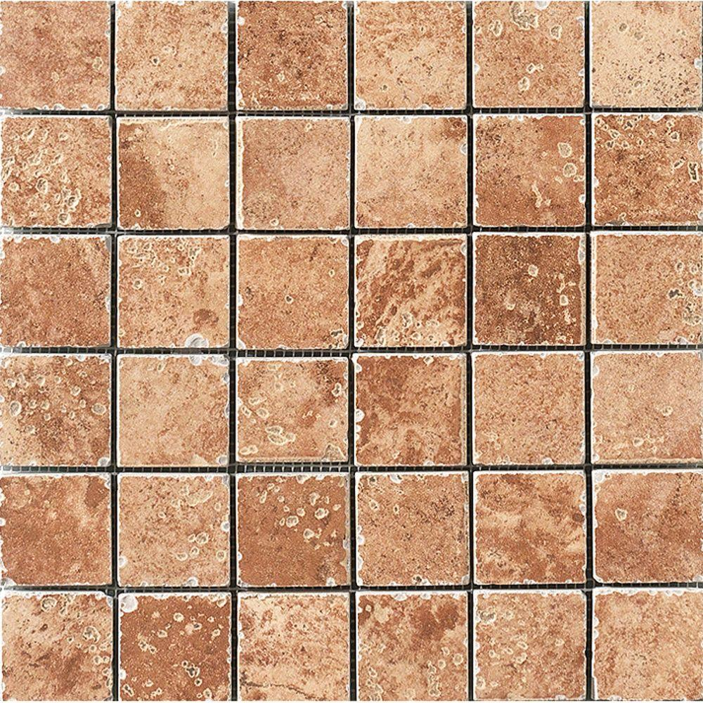MARAZZI Montagna Soratta 12 in. x 12 in. Porcelain Mosaic Floor and Wall Tile