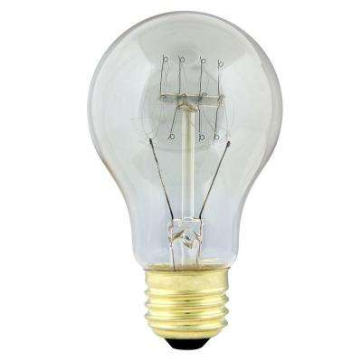 40-Watt Soft White AT19 Incandescent Original Vintage Style Light Bulb