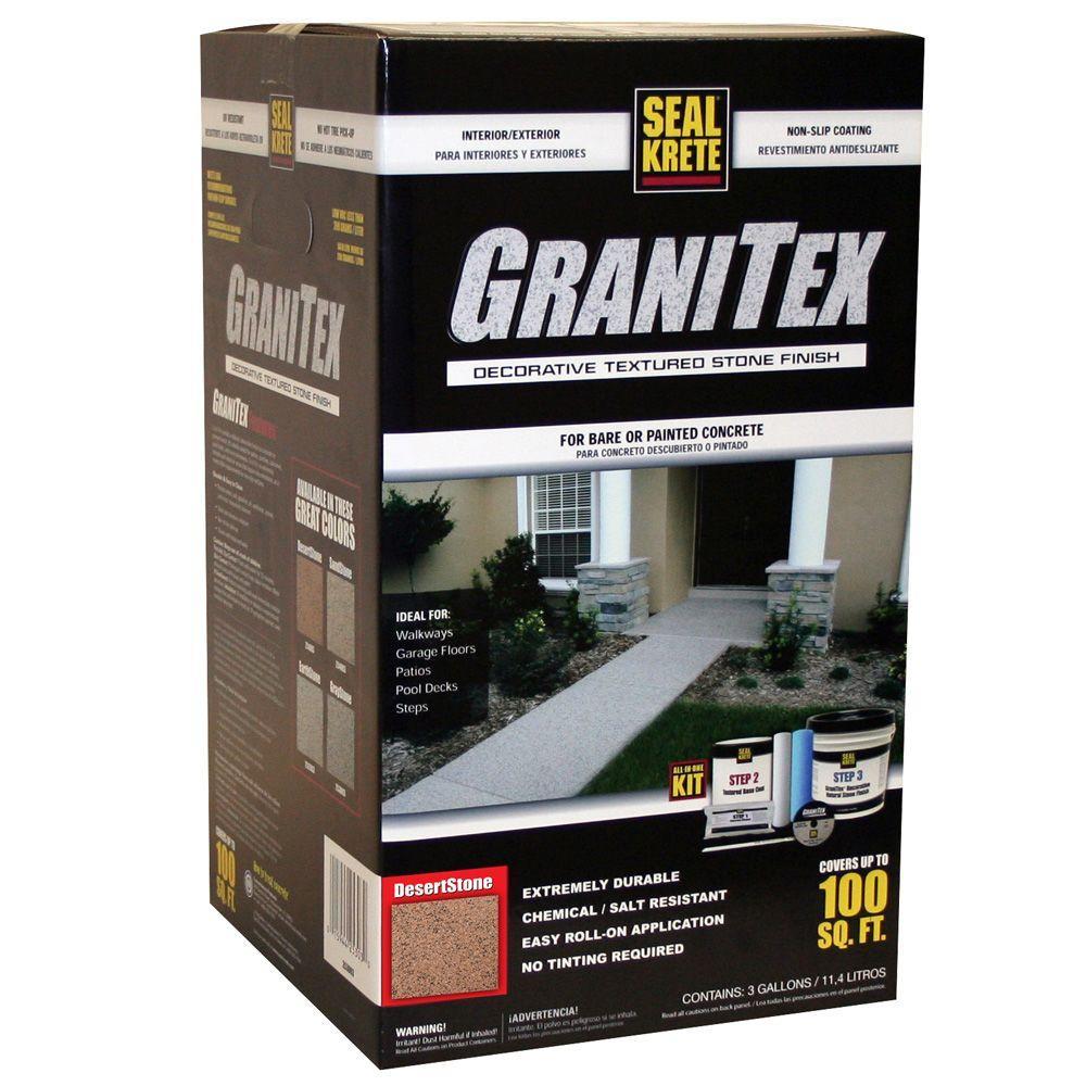 Seal-Krete 3 gal. GraniTex Kit - Desertstone