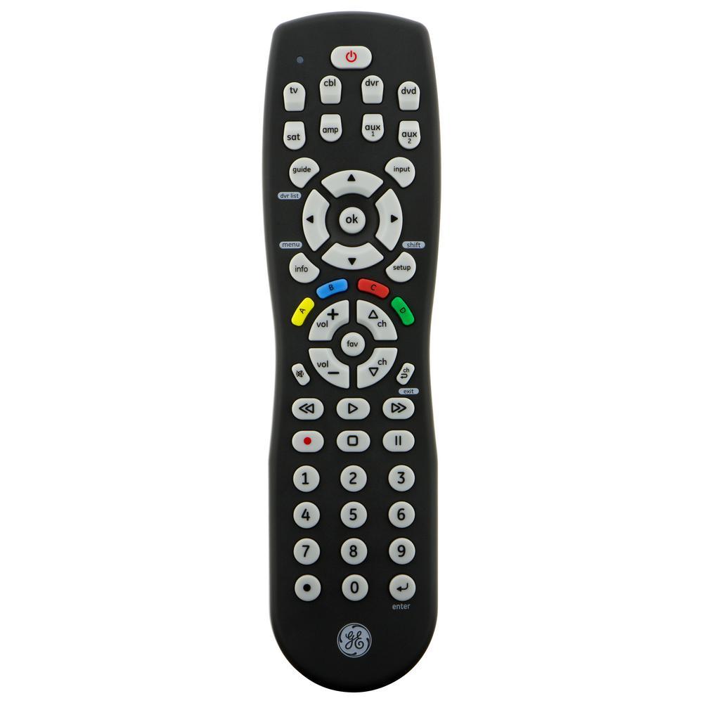 8 Device Remote Control, Black