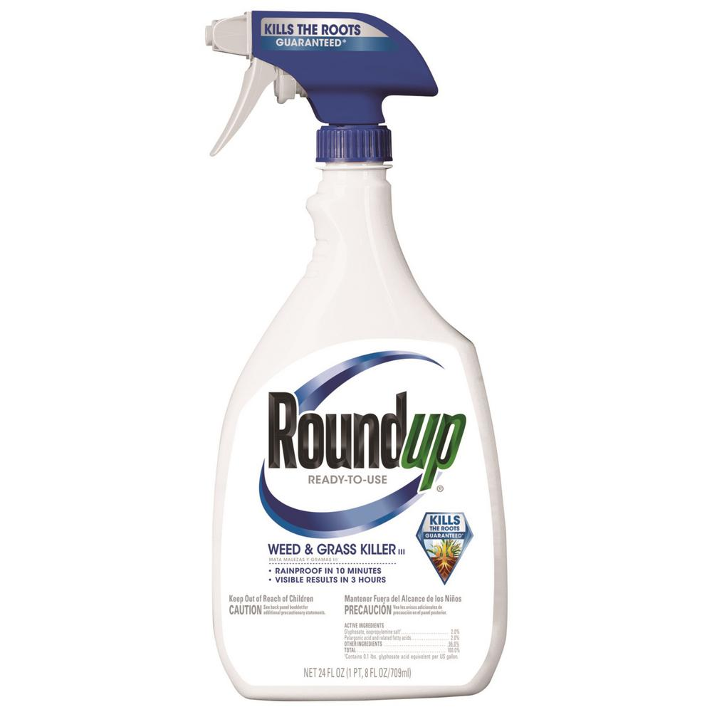 Roundup 24 oz  Ready-to-Use Weed and Grass Killer