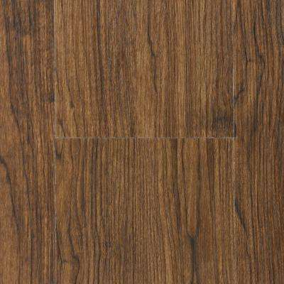 Teak 7 in. Wide x 48.75 in. Length WPC Vinyl Plank Flooring (33.64 sq. ft.)