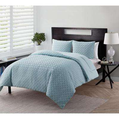 VCNY Home Nina Microfiber King Quilt Set (3-Piece)