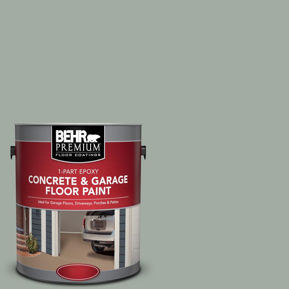 1 gal. #PFC-42 Flintridge 1-Part Epoxy Satin Interior/Exterior Concrete and Garage Floor Paint