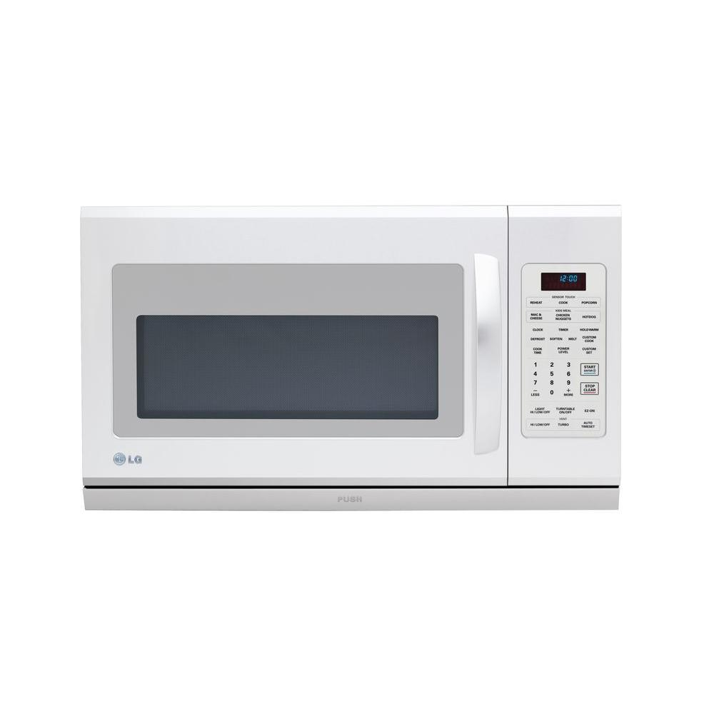 LG Electronics 2.0 cu. ft. Over-the-Range Microwave with Extenda Vent in White
