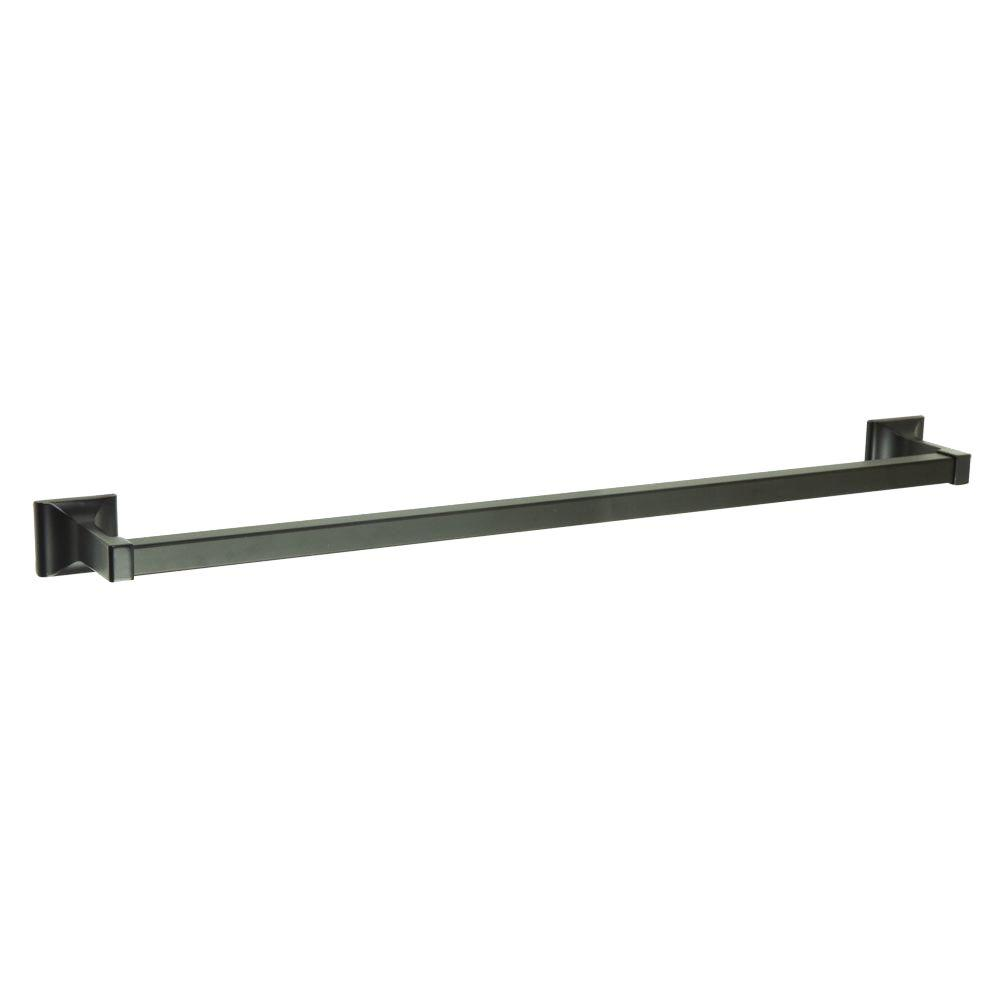 Millbridge 24 in. Towel Bar in Oil Rubbed Bronze