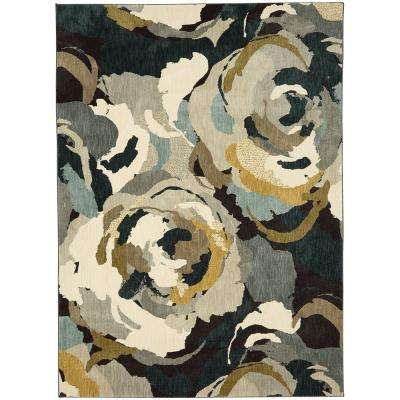 Rois Multi 8 ft. x 11 ft. Area Rug