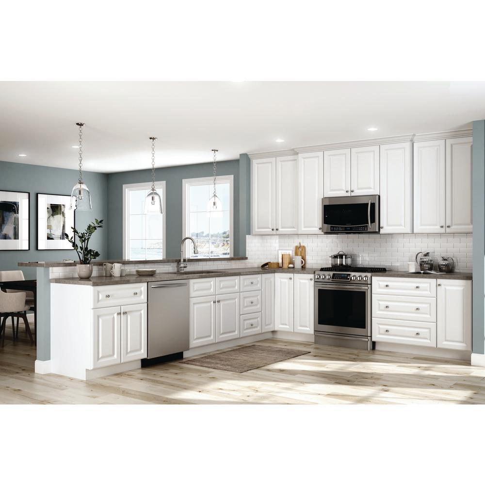White Kitchen Cabinets In Stock: White Kitchen Cabinets