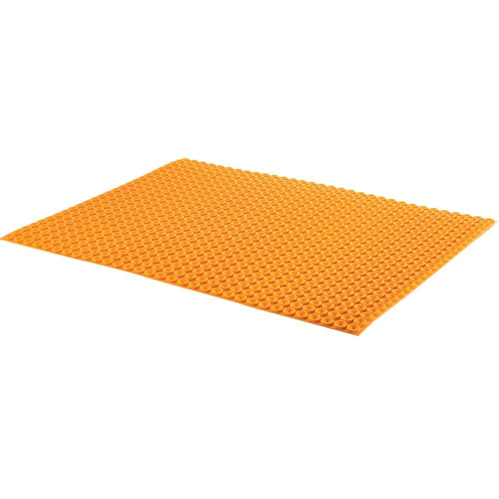 Schluter Ditra-Heat 3 ft. 3 in. x 2 ft. 7 in. Uncoupling Membrane Sheet