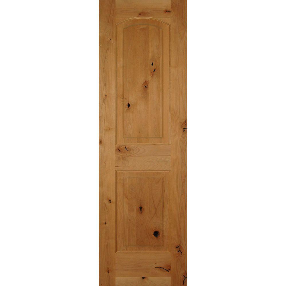Krosswood doors 24 in x 80 in rustic knotty alder 2 for 8 panel solid wood doors
