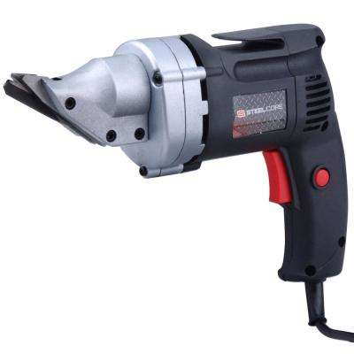 4 Amp 2500 RPM Electric Metal Head Shear Cutting Tool with 14-Gauge