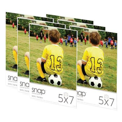 12-Opening 5 in. x 7 in. Matted Picture Frame (Set of 6)