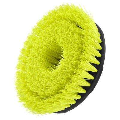 6 in. Medium Bristle Brush Accessory for RYOBI P4500 and P4510 Scrubber Tools