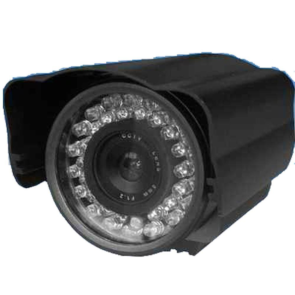SeqCam Wired Weatherproof 420TVL Indoor or Outdoor Bullet Standard Surveillance Camera with 82 ft. Night Vision