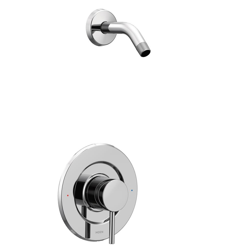 MOEN Align Single-Handle Posi-Temp Shower Faucet Trim Kit in Chrome (Showerhead and Valve Not Included) (Valve Not Included)