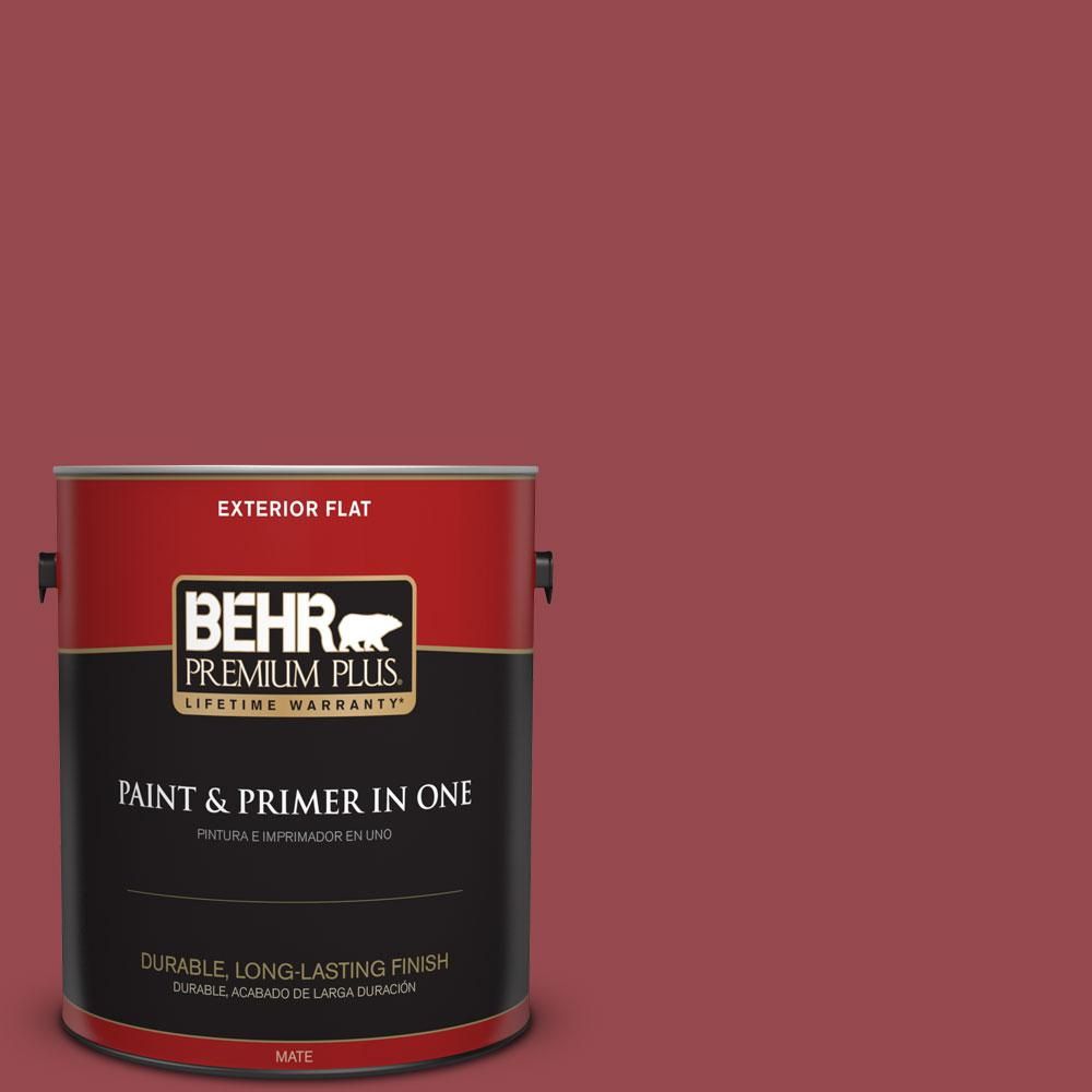 M140 6 Circus Red Flat Exterior Paint And