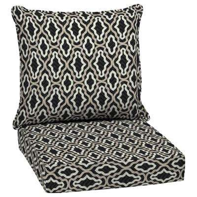 Driweave Amalfi Trellis Outdoor Deep Seat Lounge Chair Cushion Set