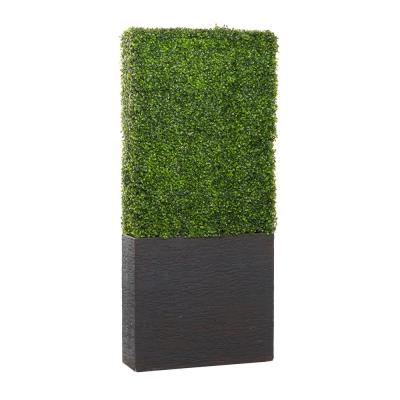 Natural 66 in. x 29 in. Resin Decorative Boxwood Hedge