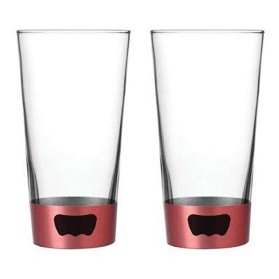 16 oz. Red Pint Glass Opener (2-Pack)