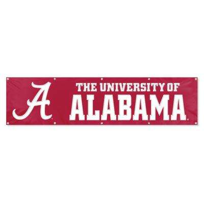Alabama Crimson Tide Giant 8 ft. x 2 ft. Banner