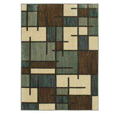 Fairfield Beige 4 ft. x 6 ft. Area Rug