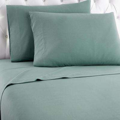 King 4-Piece Spruce Sheet Set