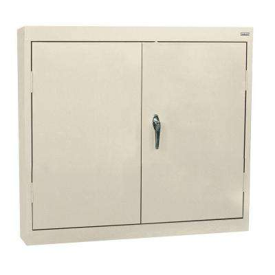 30 in. H x 30 in. W x 12 in. D Wall Cabinet in Putty