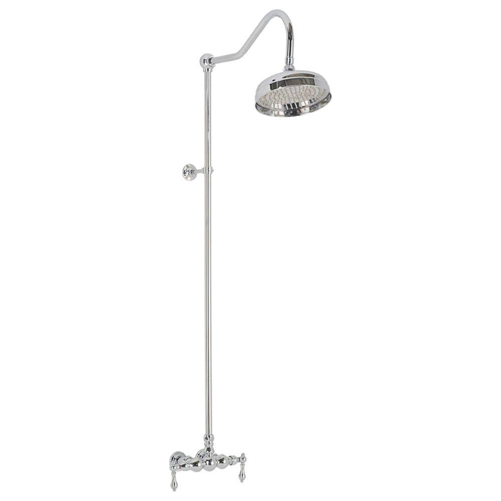 shower head and faucet combo. Elizabethan Classics 2 Handle 1 Spray Wall Mount Exposed Tub and Shower  Faucet