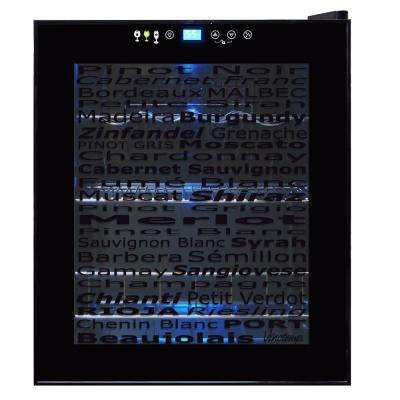 Wine Varietal 15-Bottle Wine Cooler