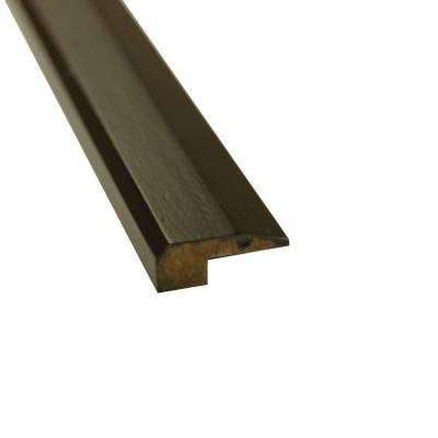 Stained Ebony 3/4 in. Thick x 2 in. Wide x 72-3/4 in. Length Strand Bamboo Threshold Molding