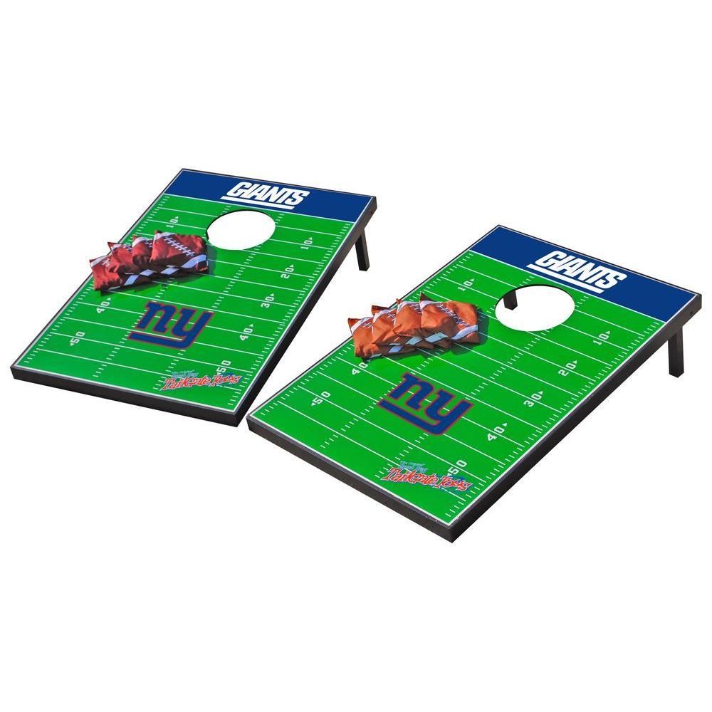 Wild Sports New York Giants Tailgate Cornhole Toss