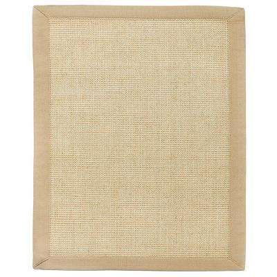 Sandpiper Brown Sisal 5 ft. x 8 ft. Area Rug