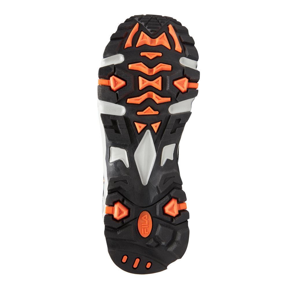 Fila Men's Memory At Peak Athletic Shoes Composite Toe CastlerockBlack Size 11(M)