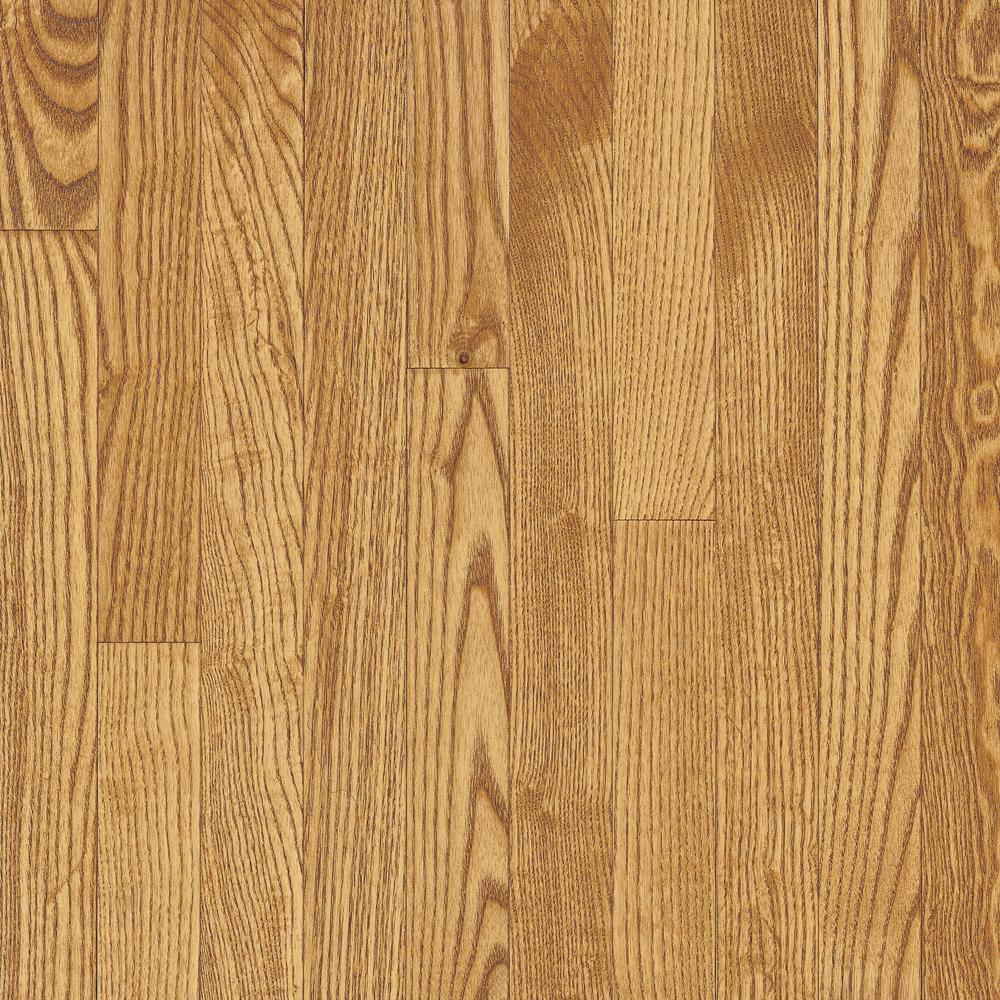 Bayport Oak Seashell 3 4 In Thick X 1 Wide Varying Length Solid Hardwood Flooring 22 Sq Ft Case