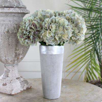 Indoor Gray Hydrangea Stem (Set of 12)