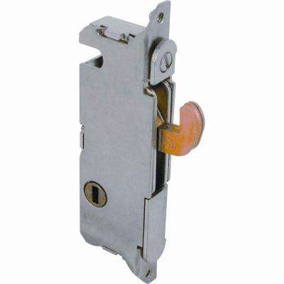 Steel Sliding Glass Door Mortise Latch with Rounded-Edge Faceplate