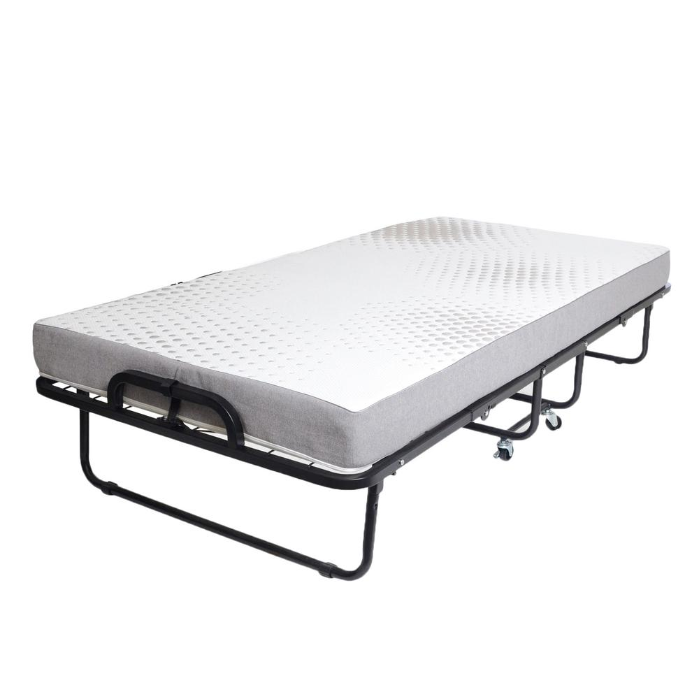 Hollywood Bed Frame Twin Metal Rollaway Bed 950 39 Poly I