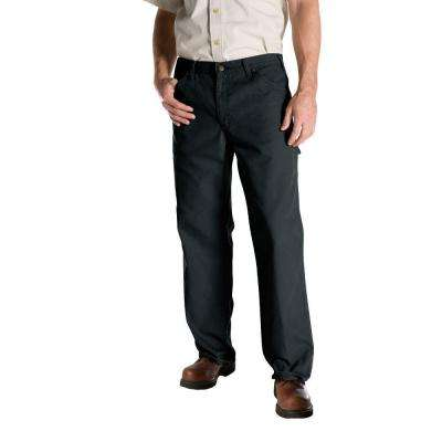 Relaxed Fit 38 in. x 32 in. Duck Dungaree Jean Slate