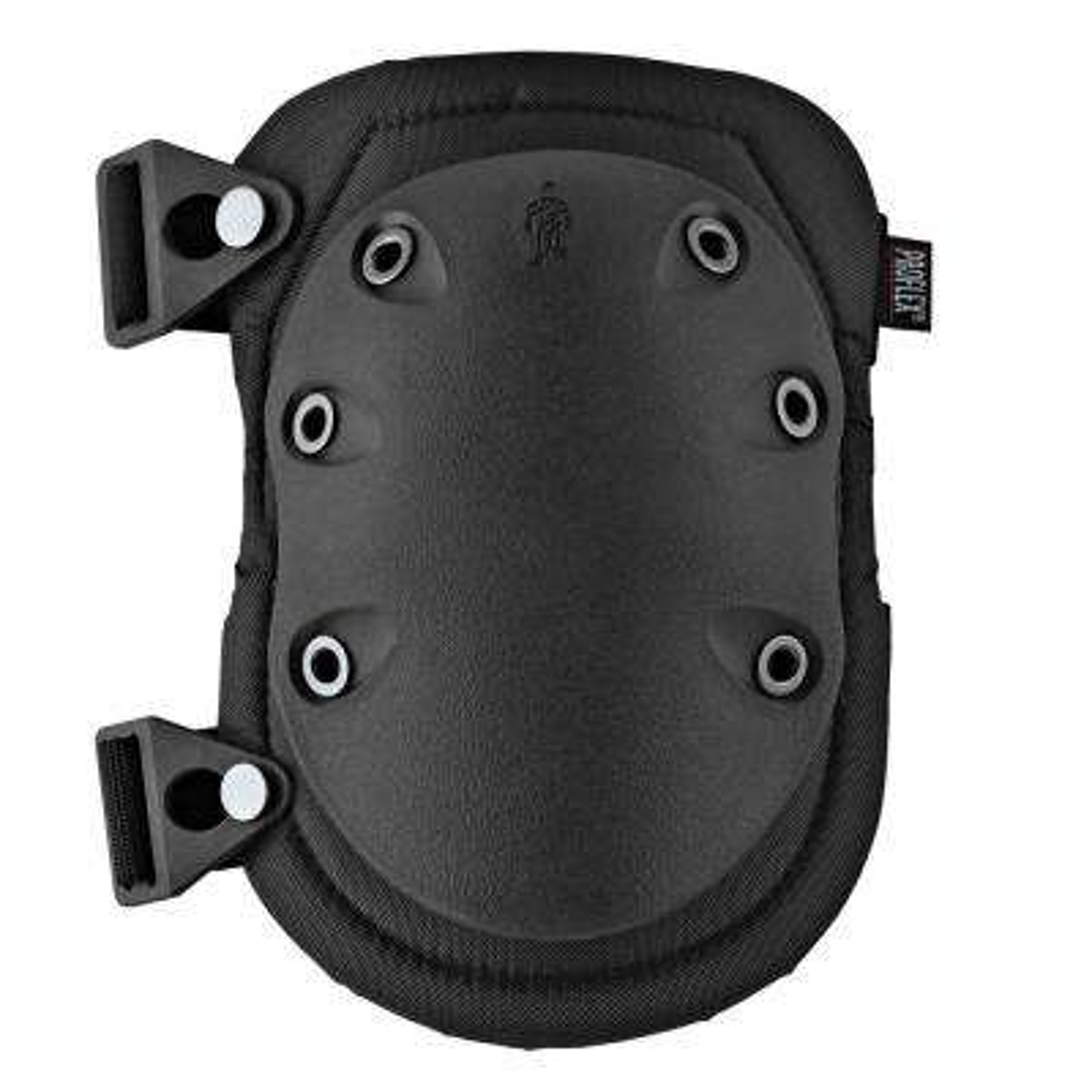335 Black Cap Slip Resistant Rubber Cap Knee Pads