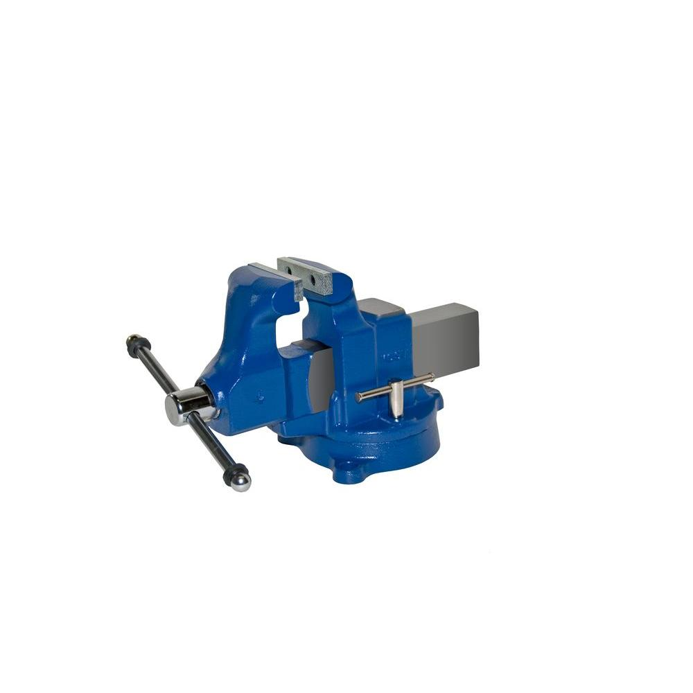 4 in. Heavy-Duty Machinists Vises - Swivel Base