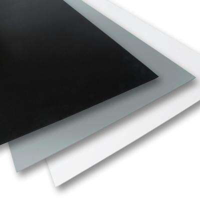 12 in. x 12 in. x 0.236 in. Black/White/Grey Foam PVC (3-Pack)