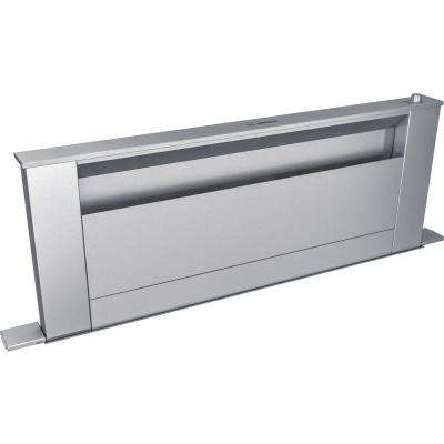 800 Series 36 in. Telescopic Downdraft System in Stainless Steel, Blower Sold Separately