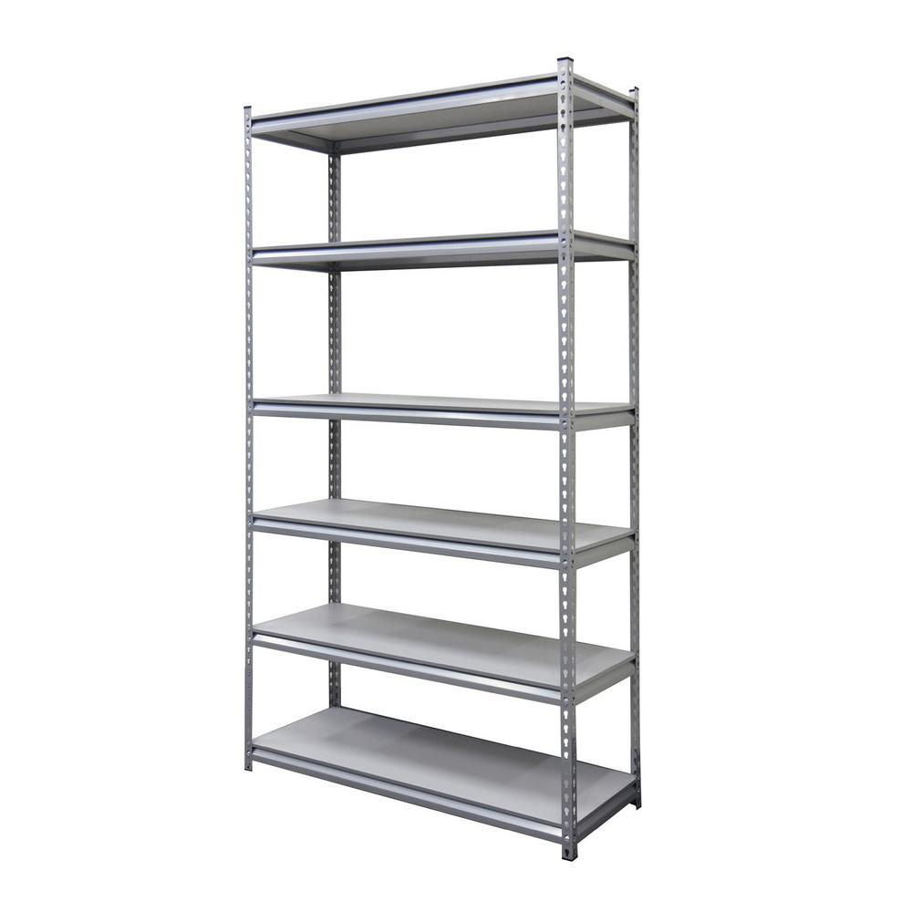 18 in. x 48 in. x 86 in. Silver Laminate Shelf