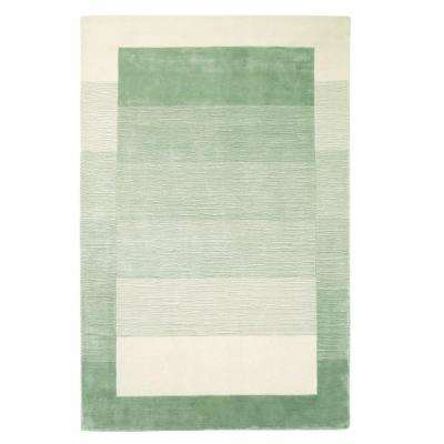 Chester Green/Cream 3 ft. 6 in. x 5 ft. 6 in. Accent Rug