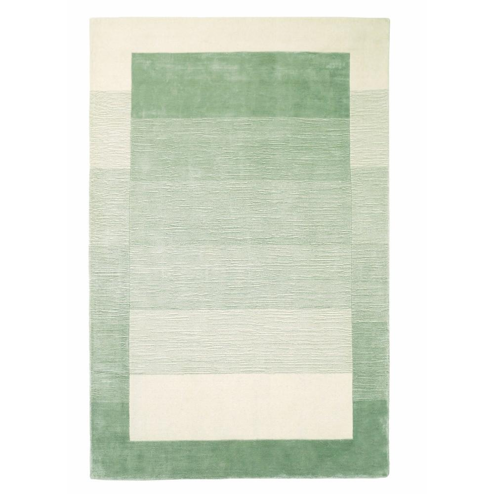 Home decorators collection symphony sage green 8 ft x 11 for Green and cream rugs
