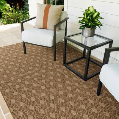 Orchestra Cedar 10 ft. x 14 ft. Geometric Indoor/Outdoor Area Rug
