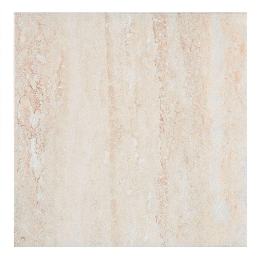 MONO SERRA Travertino 13.5 in. x 13.5 in. Ceramic Floor and Wall Tile (14.95 sq. ft. / case)
