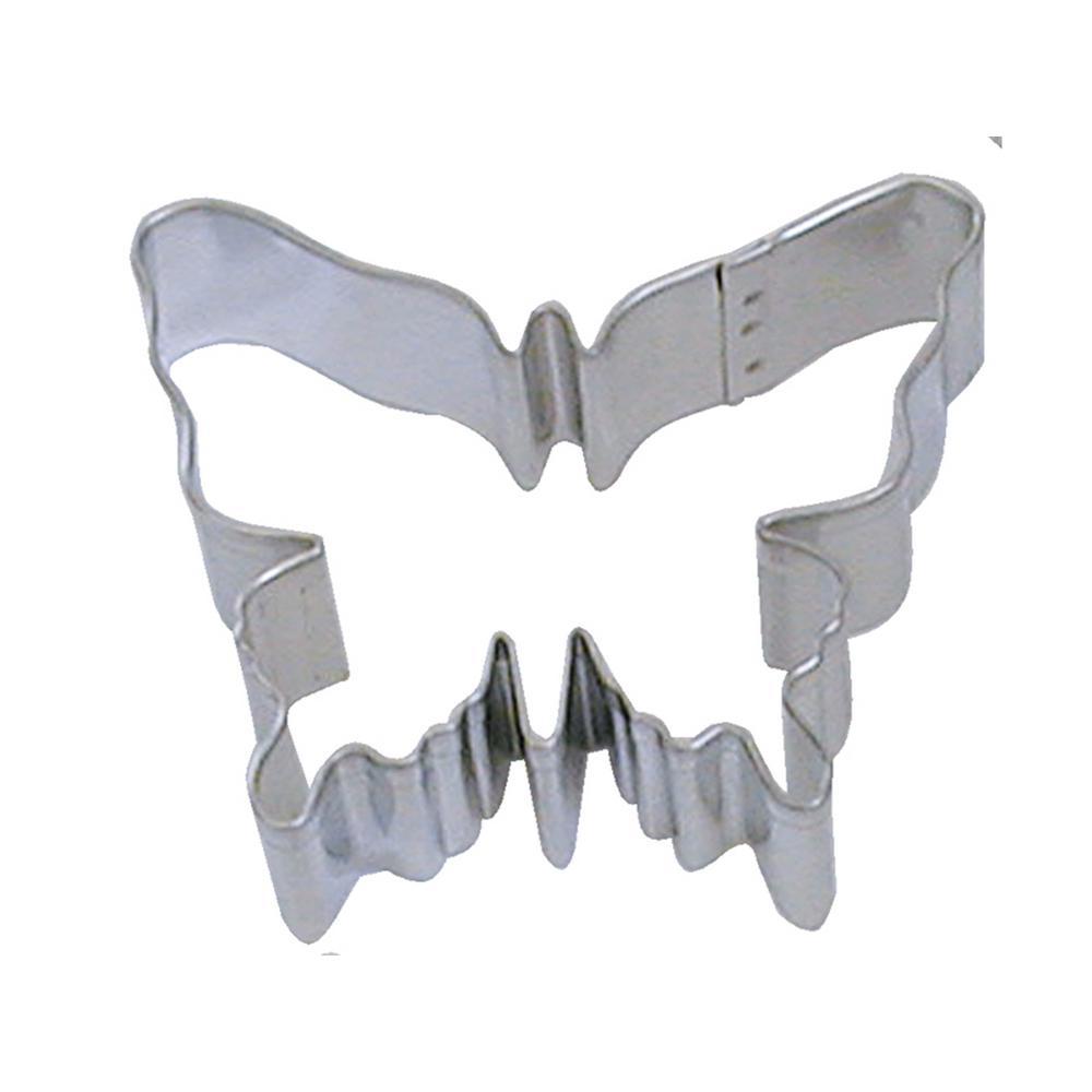 f552b972c22d CybrTrayd 12-Piece Butterfly 3.25 in. Tinplated Steel Cookie Cutter   Recipe