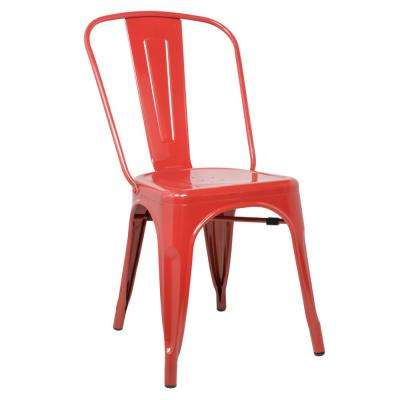 Red Talix Dining Chair
