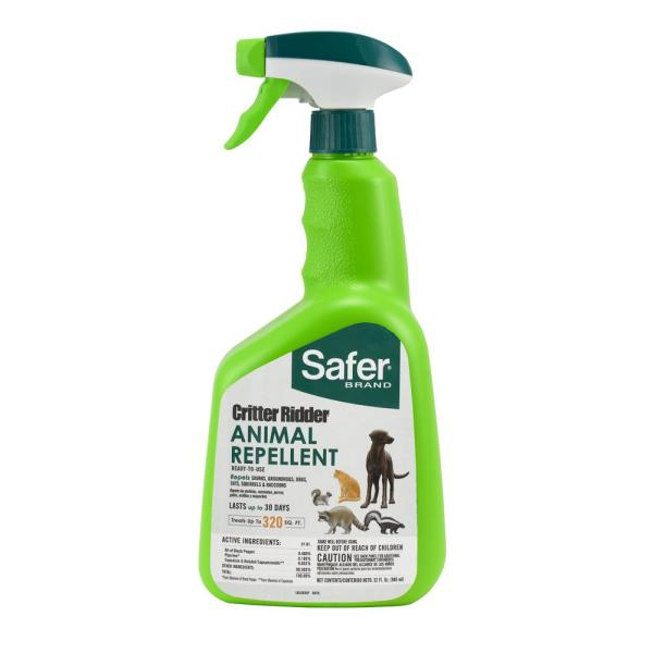 Critter Ridder 32 fl. oz. RTU Animal Repellent Spray